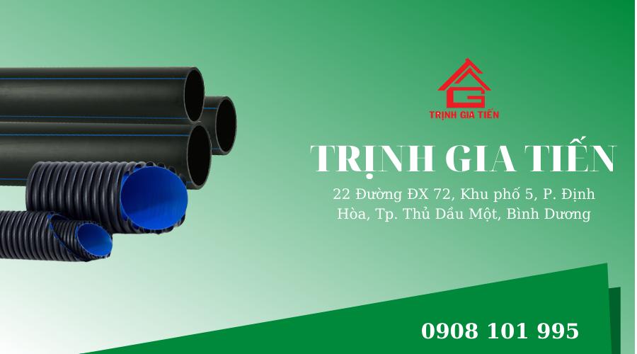 Công ty Trình Gia Tiến - cung cấp vật tư, thiết bị ống nước
